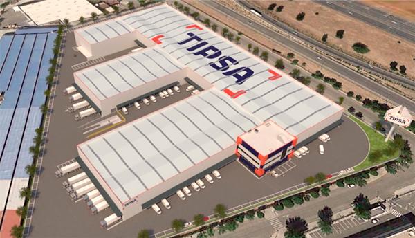 El nuevo HUB Central de Tipsa, a la vanguardia del sector